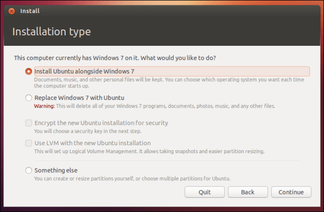 5 Methods To Install Ubuntu4