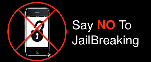 Don't jailbreak iphone