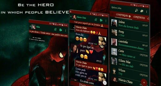 GbWhatsApp Spiderman Theme