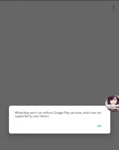How to Fix Google Play Servies error on GBWhatsapp