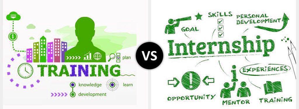 training-vs-internship