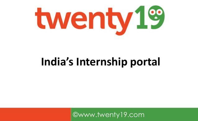 twenty19-indias-internship-portal