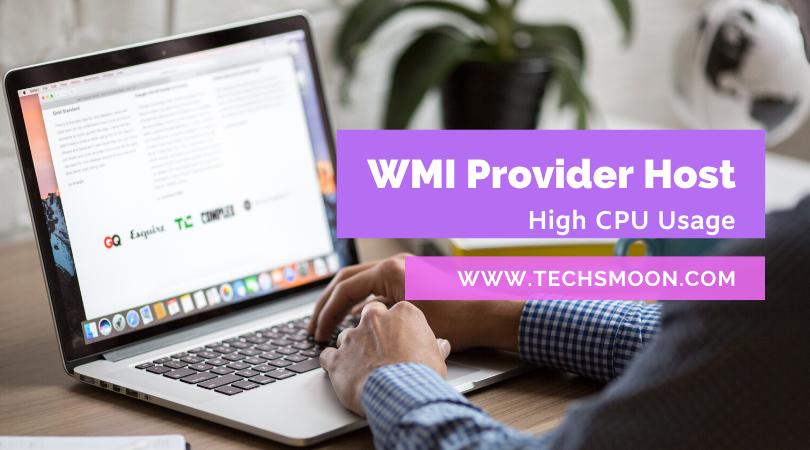 wmi-provider-host-high-cpu-usage